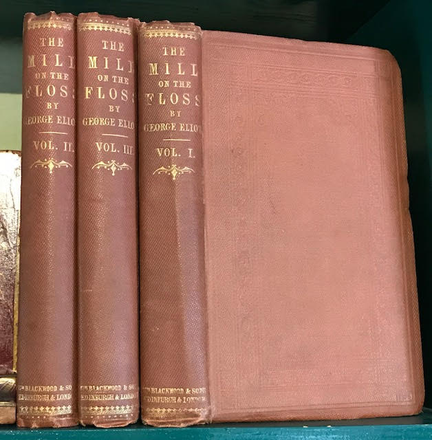 Image for The Mill on the Floss. In three volumes