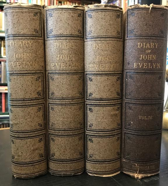 Image for Diary of John Evelyn : To Which are Added a Selection from his Familiar Letters ... In four volumes