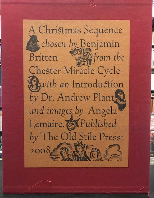 Image for A Christmas Sequence : Chosen by Benjamin Britten from the Chester Mystery Cycle