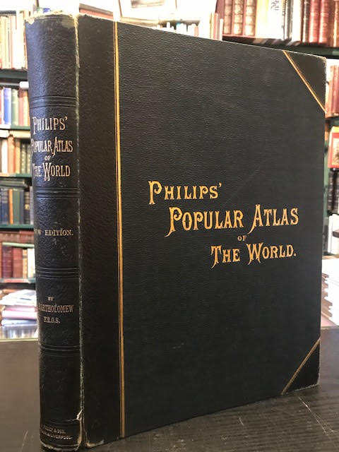 Image for Philips' Popular Atlas of the World