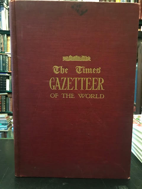 Image for Index - Gazetteer to The Times Survey Atlas of the World