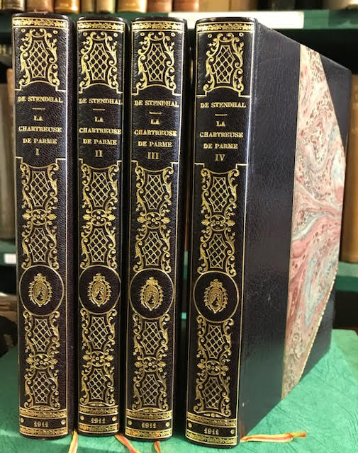 La Chartreuse de Parme. In four volumes