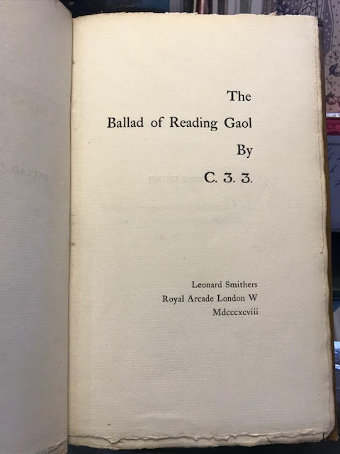 Image for The Ballad of Reading Gaol
