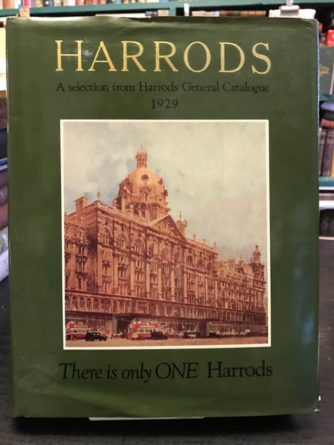 Image for Harrods, a Selection from Harrods General Catalogue 1929