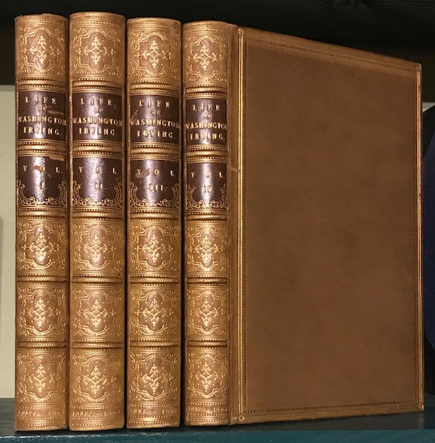 Image for The Life and Letters of Washington Irving. In four volumes