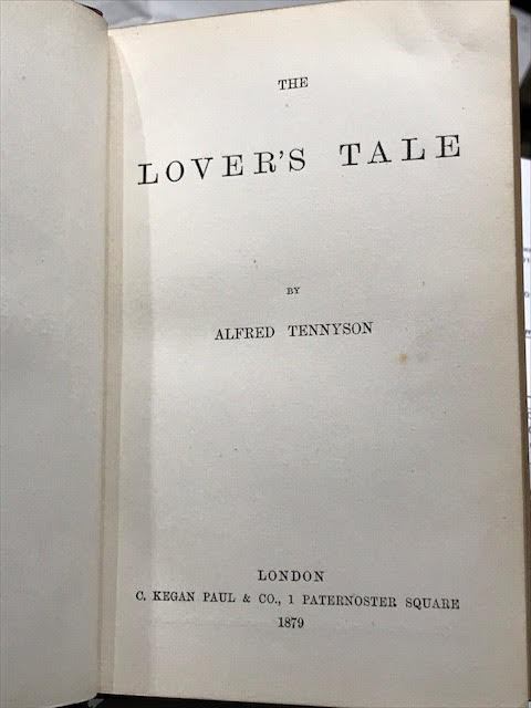 Image for The Lover's Tale