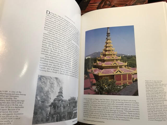 Image for Splendour in Wood: The Buddhist Monasteries of Burma