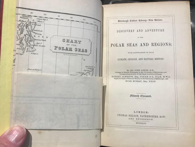 Image for Discovery and Adventure in the Polar Sea and Regions. Edinburgh Cabinet Library