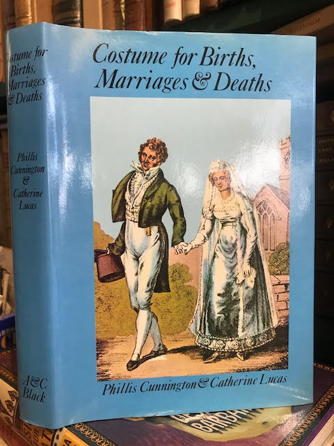 Image for Costume for Births, Marriages and Deaths