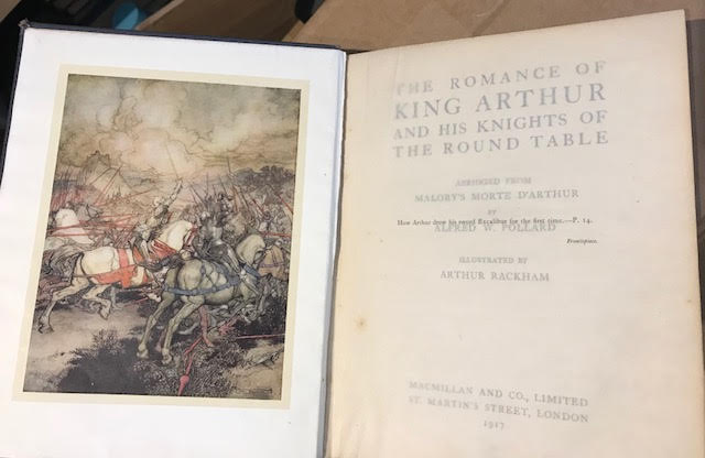 Image for The Romance of King Arthur and His Knights of the Round Table. Abridged from Malory's Morte D'Arthur