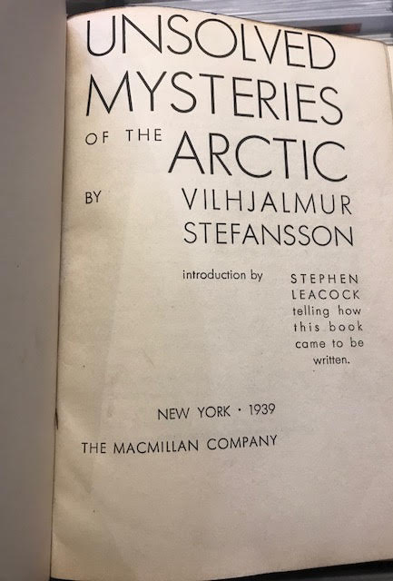 Image for Unsolved Mysteries of the Arctic