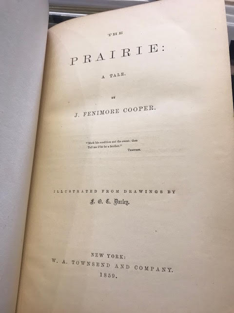 Image for The Prairie : A Tale