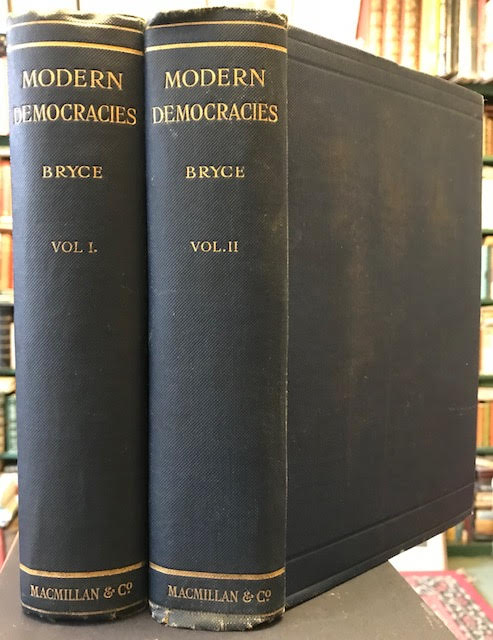 Modern Democracies. In two volumes