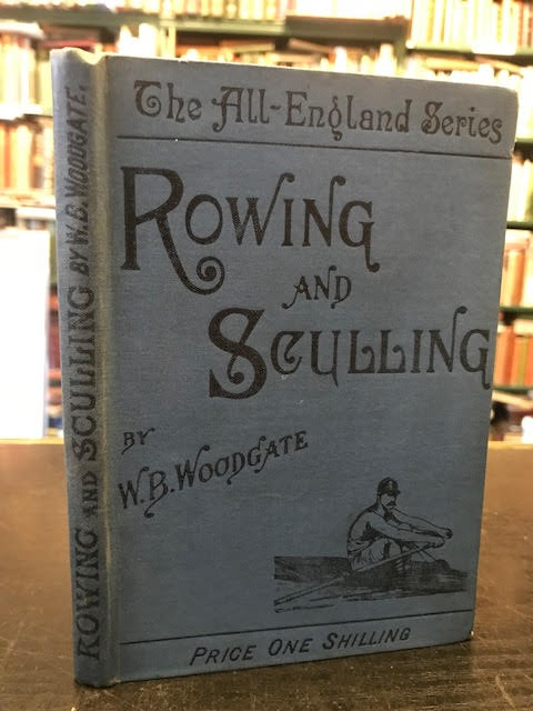 Image for Rowing and Sculling. The All-England Series
