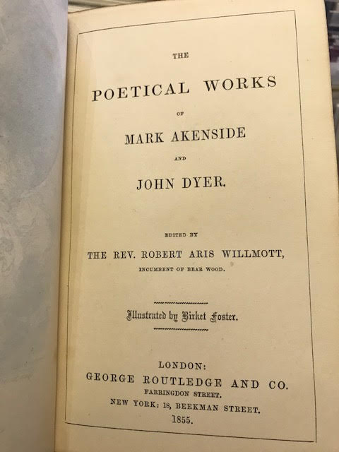 Image for The Poetical Works of Mark Akenside and John Dyer