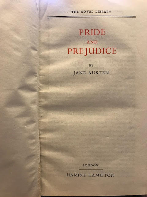 Image for Pride and Prejudice. Persuasion. Emma. Mansfield Park. Sense and Sensibility. Northanger Abbey. The Novel Library. In six volumes