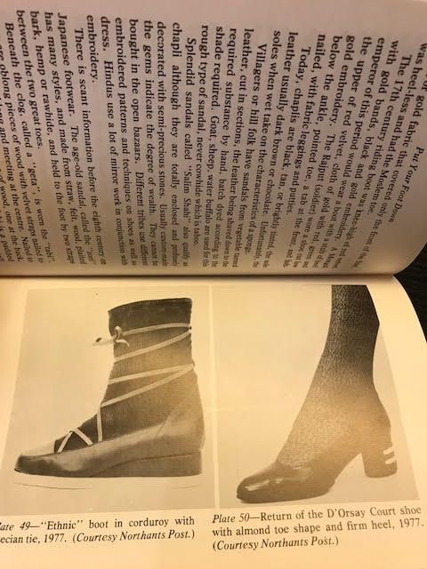 Image for Put Your Foot Down : A Treatise on the History of Shoes