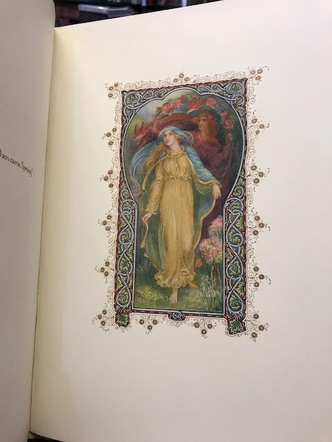 Image for Rubaiyat of Omar Khayyam. With an introduction by A. C. Benson. Reproduced from a Manuscript Written & Illuminated by F. Sangorski & G. Sutcliffe