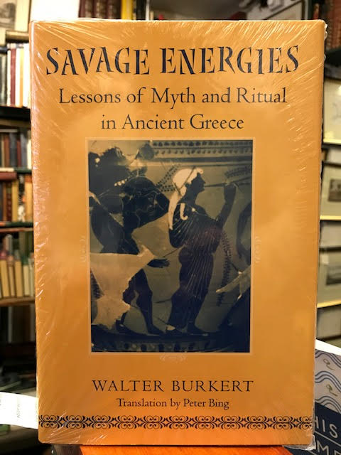 Image for Savage Energies : Lessons of Myth and Ritual in Ancient Greece