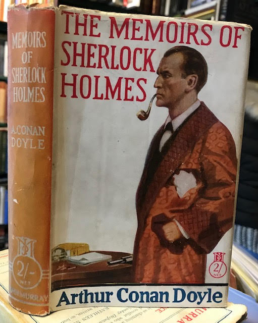 Image for The Memoirs of Sherlock Holmes. Murray's 2/- Novels.
