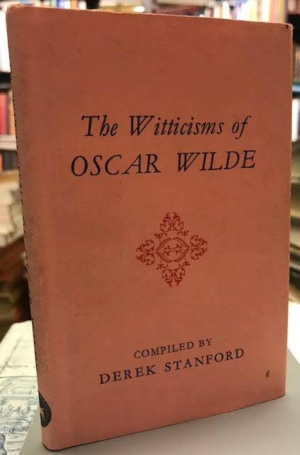 Image for The Witticisms of Oscar Wilde