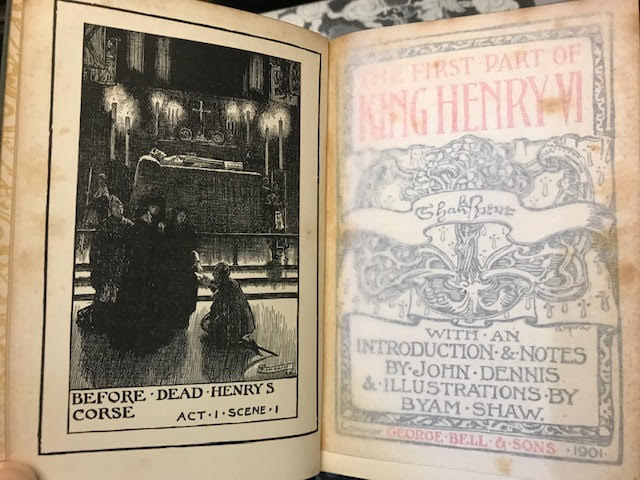 Image for King Henry VI : The Fist Part. The Second Part. The Third Part. The Chiswick Shakespeare. In three volumes