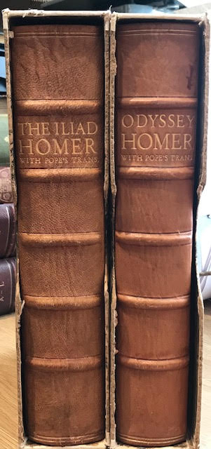 Image for The Iliad. The Odyssey. In 2 volumes