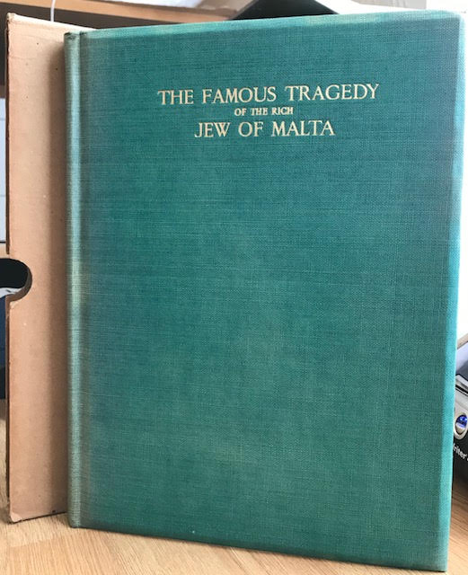 Image for The Famous Tragedy of the Rich Jew of Malta
