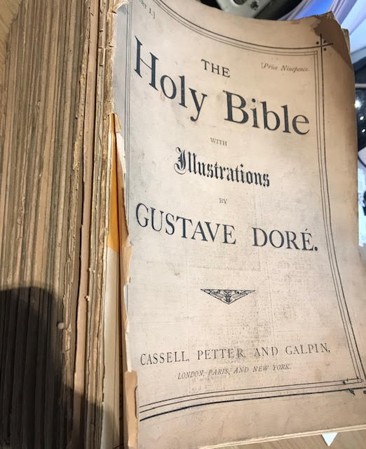 Image for The Holy Bible : With Illustrations by Gustave Dore. In fifty-six parts