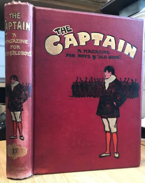 "Image for The Captain. A Magazine for Boys and ""Old Boys"" Volume XVII. September 1907 to September 1907"