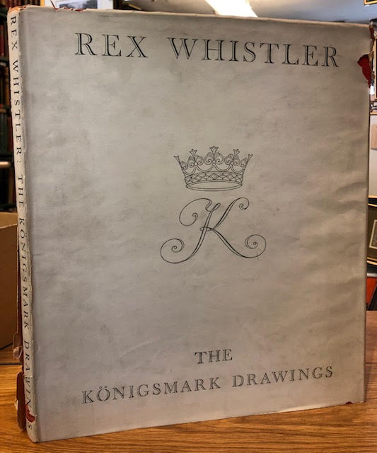Image for Rex Whistler : The Konigsmark Drawings