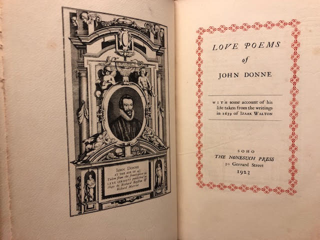 Image for Love Poems of John Donne : With Some Account of His Life Taken From the Writings in 1639 of Izaak Walton