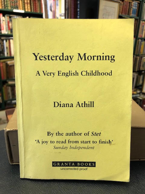 Image for Yesterday Morning : A Very English Childhood