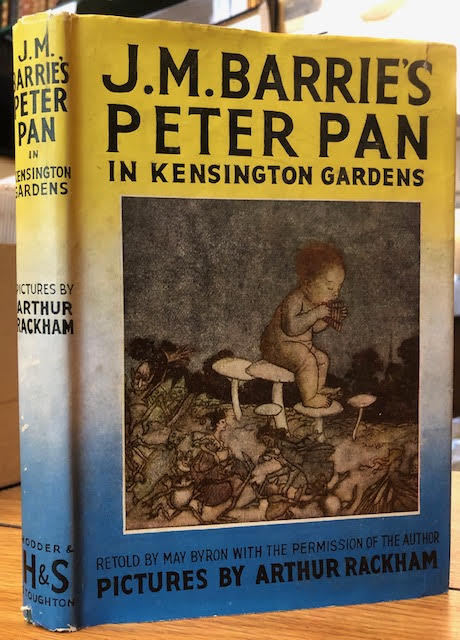 Image for J. M. Barrie's Peter Pan in Kensington Garden : Retold by May Byron for Little People with the Permission of the Author