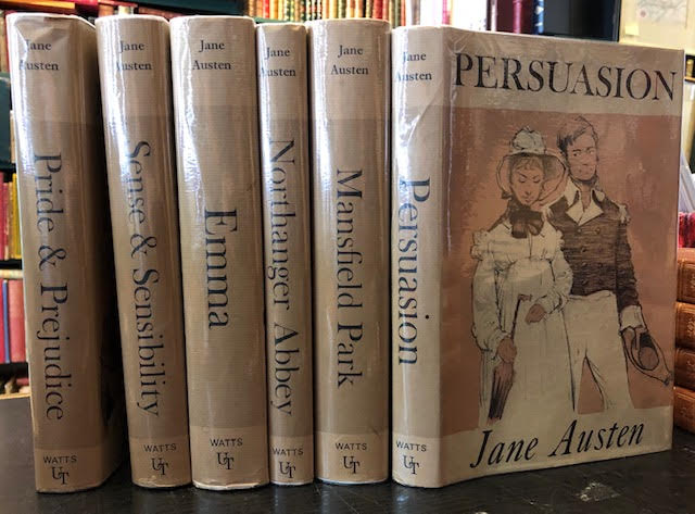 Image for Works : Pride & Prejudice. Sense & Sensibility. Emma. Mansfield Park. Northanger Abbey. Persuasion. Ultratype Editions. [Large print edition]. In six volumes