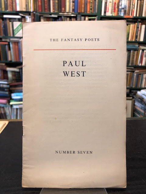 Image for Paul West : The Fantasy Poets Number Seven