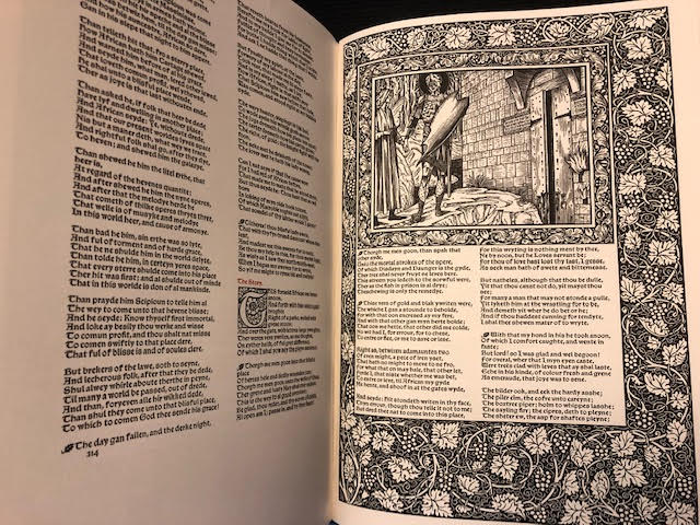 Image for The Works of Geoffrey Chaucer [Kelmscott Chaucer]