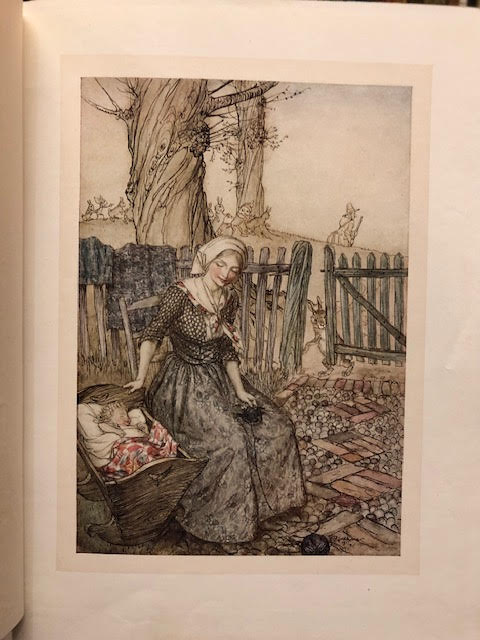 Image for Mother Goose : The Old Nursery Rhymes