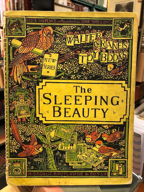 Image for The Sleeping Beauty : Walter Crane's Toy Books