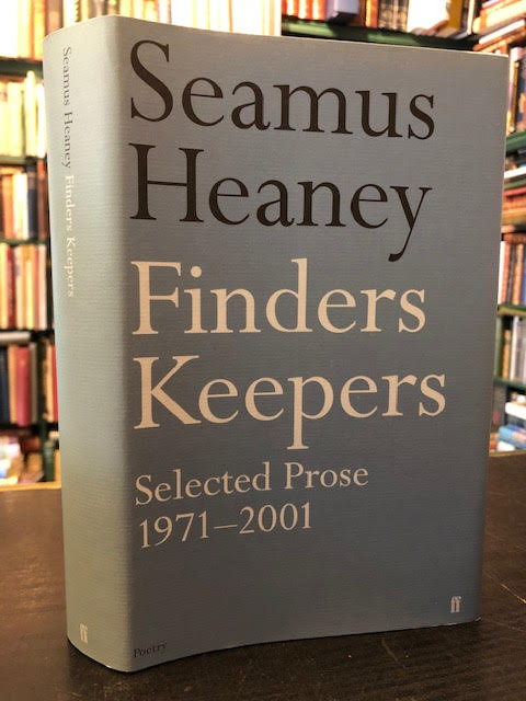 Image for Finders Keepers : Selected Prose 1971-2001