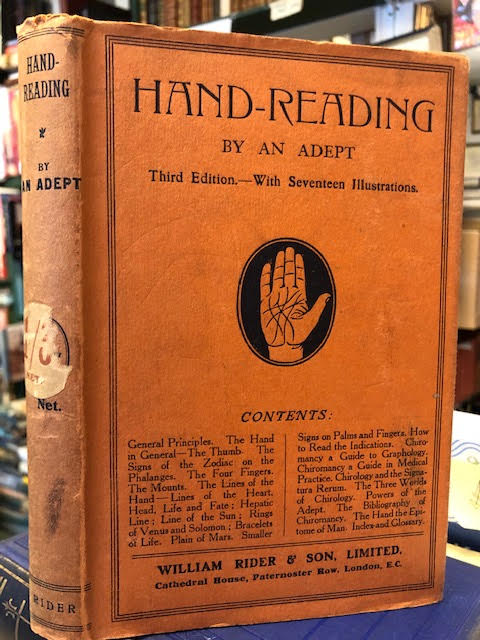 Image for Hand-Reading : Or the Science of Chirology