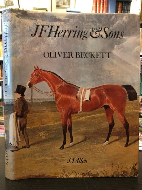Image for J. F. Herring & Sons : The Life and Works of J. F. Herring, Senr and His Family