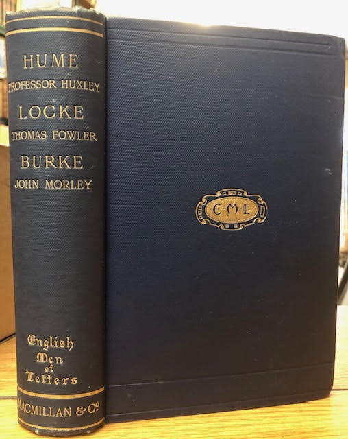 Image for English Men of Letters : Hume, Locke, Burke