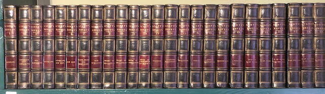 Image for Novels and Tales of The Author of Waverley. In 25 volumes