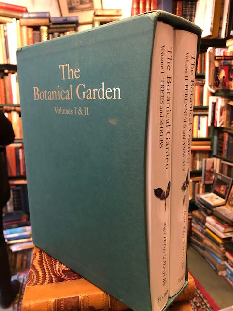 Image for The Botanical Garden. Volume 1: Trees and Shrubs and Volume 2: Perennials and Annuals. Two Volume Set
