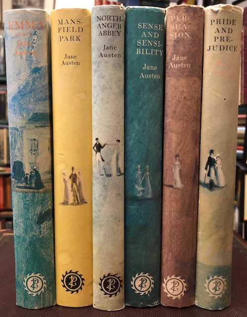Image for The Novels of Jane Austen : Pride and Prejudice. Sense and Sensibility. Persuasion. Northanger Abbey. Mansfield Park. Emma. In six volumes