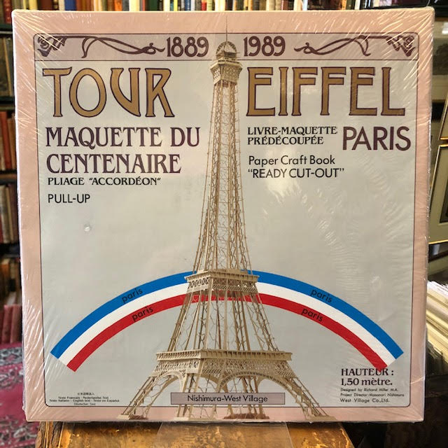 Image for Tour Eiffel : Maquette du Centenaire. Paper Craft Book 'Ready Cut-Out'