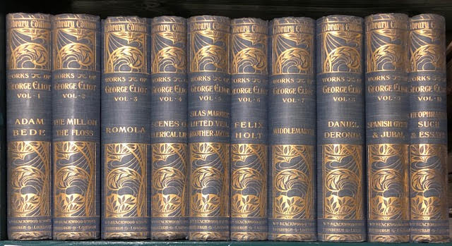 Image for Works of George Eliot : Library Edition. In ten volumes
