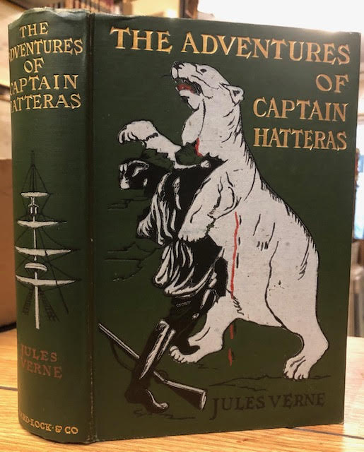 "Image for The Adventures of Captain Hatteras : Containing ""The English at the North Pole"" and ""The Ice Desert"""