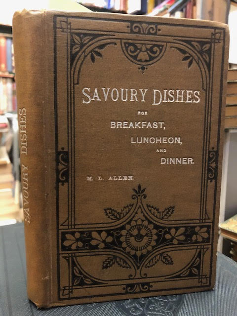 Image for Savoury Dishes for Breakfast, Luncheon and Dinner [with] Breakfast Dishes. Two works in one